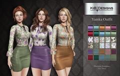 KiB Designs - Yamka Outfit @Designer Showcase