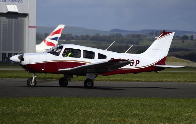 G-BYSP Cardiff 020320