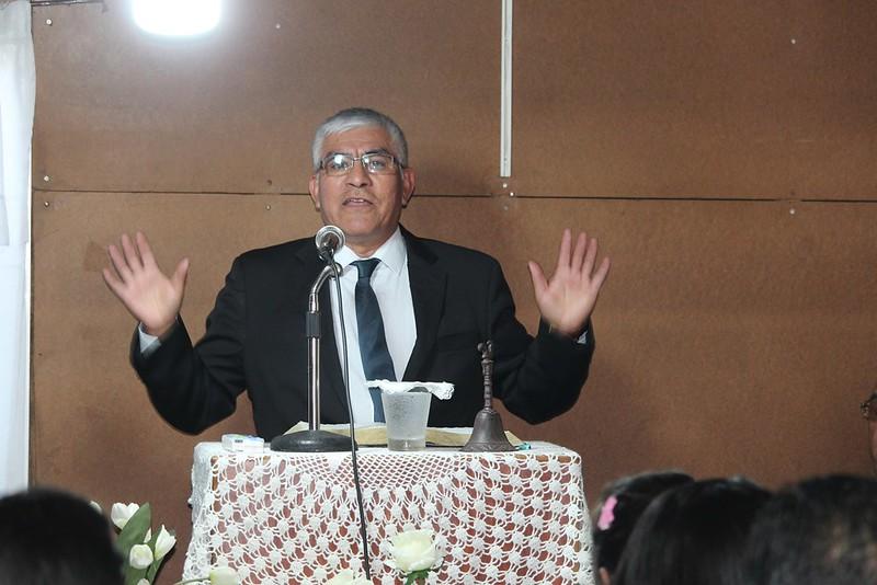 Presentación de nuevos pastores para IMPCH Talcahuano Sector 15