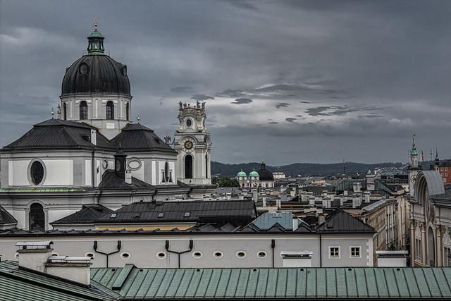 Vue sur Salzbourg