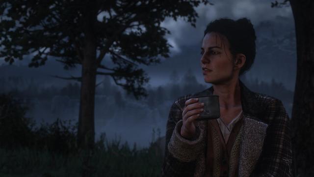 Red Dead Redemption 2 - Around the campfire