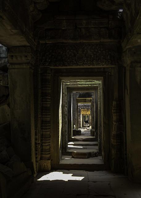 5917   Exploring Preah Khan