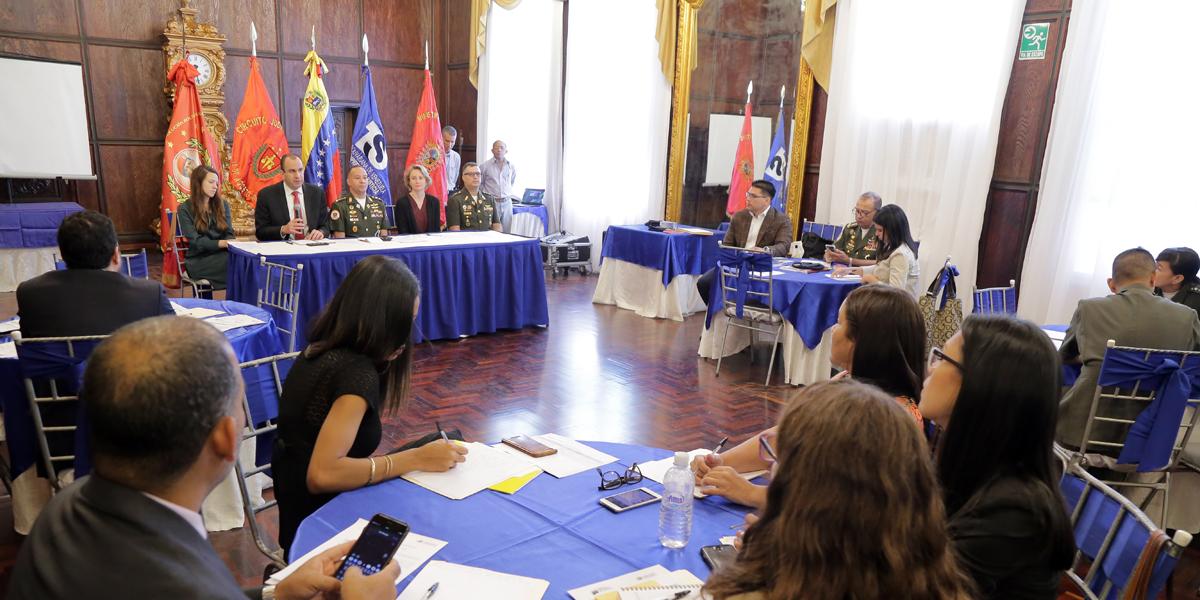 Inicia taller sobre procedimientos especiales en conjunto con Oficina de la Alta Comisionada de ONU para DDHH