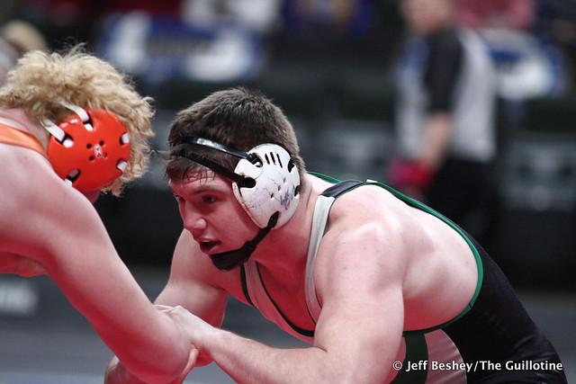 220A 3rd: Shane Noyes (Canby) 43-6, Jr. over Daniel Erlandson (Breckenridge) 38-6, Jr. (SV-1 12-10). 200229BJF0710