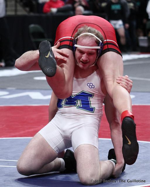 195A 3rd: Tyler VanLuik (Minnewaska Area) 50-1, Sr. over Zane Swanson (Ottertail Central Bulldogs) 33-9, Sr. (Dec 3-1). 200229BJF0661