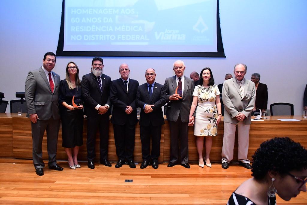Sessão Solene em Homenagem aos 60 anos da Residência Médica no Distrito Federal