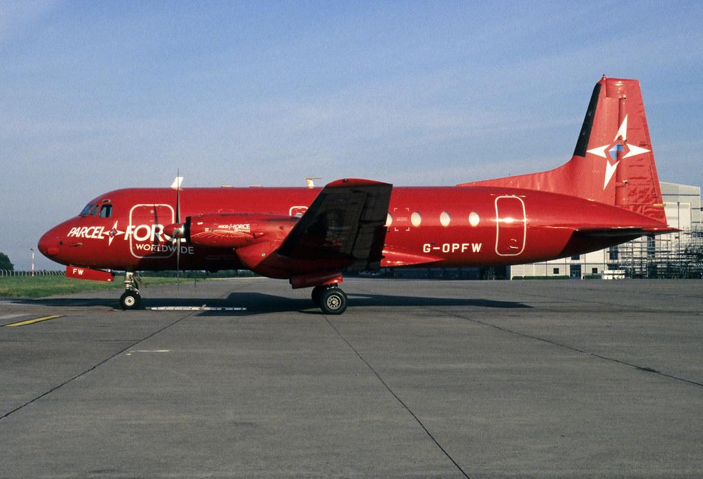 Hawker Siddeley HS.748 2A Emerald Airways