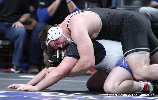 285A Semifinal - Craig Orlando (Bertha-Hewitt-Verndale-Parkers Prairie) 50-0 won by decision over Dylan Nirk (Westfield Razorbacks) 34-7 (Dec 1-0). 200229AJF1878