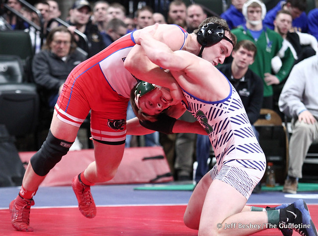 170A Semifinal - Jace Paplow (Tracy-Milroy-Balaton-Westbrook-Walnut-Grove) 46-3 won by decision over Wyatt Simon (Maple River) 28-4 (Dec 5-3). 200229AJF1603