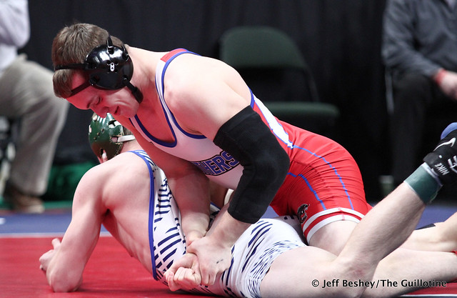 170A Semifinal - Jace Paplow (Tracy-Milroy-Balaton-Westbrook-Walnut-Grove) 46-3 won by decision over Wyatt Simon (Maple River) 28-4 (Dec 5-3). 200229AJF1567