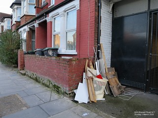 Dumped Rubbish 60A Dowsett Road N17 | by Alan Stanton