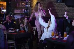 DSC_2063 Zebrano The Drag Brunchette Greek street Soho London. duo of explosive Drag Queens Rihanna vs Britney