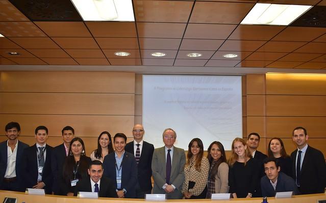 Primer día II Programa Liderazgo Iberoamericano