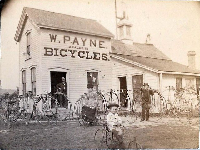 Penny Farthing dealer - 1882 manufactured in London , Ontario , Canada