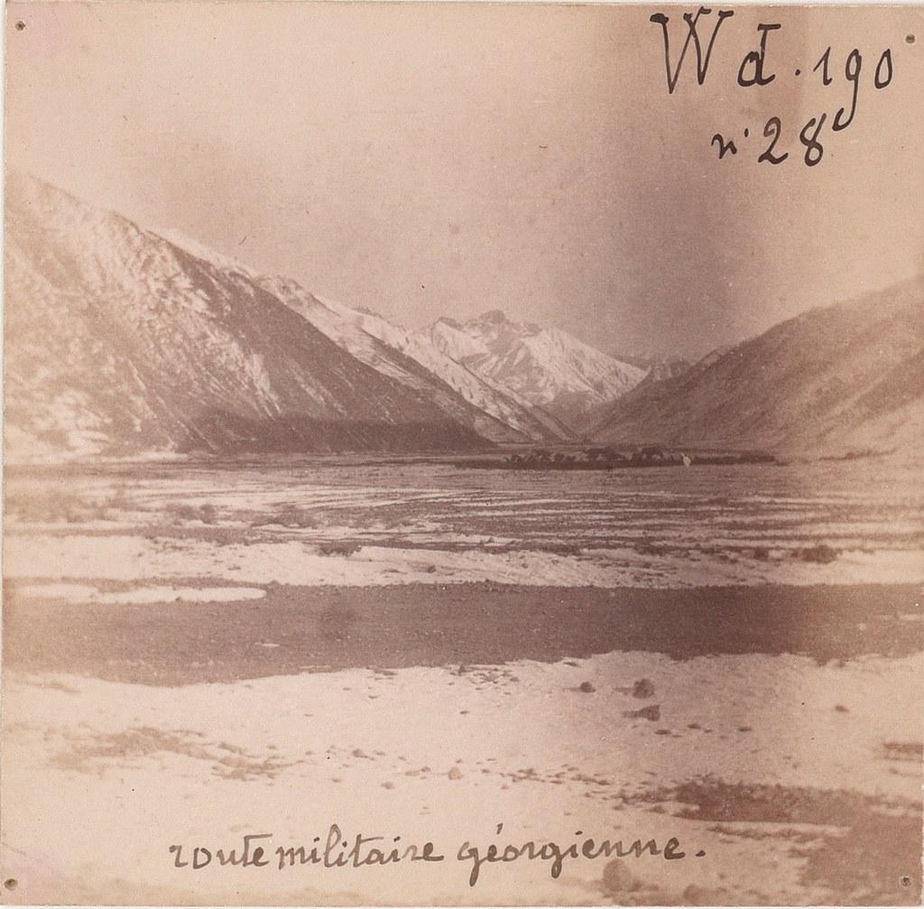 14. Военно-Грузинская дорога. Между Коби и Сионом