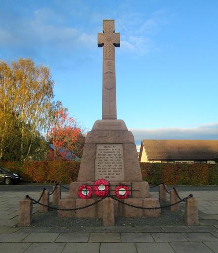 Fyvie War Memorial