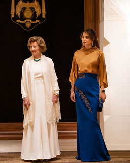 Visit of Their Majesties King and Queen of Norway | by queenrania
