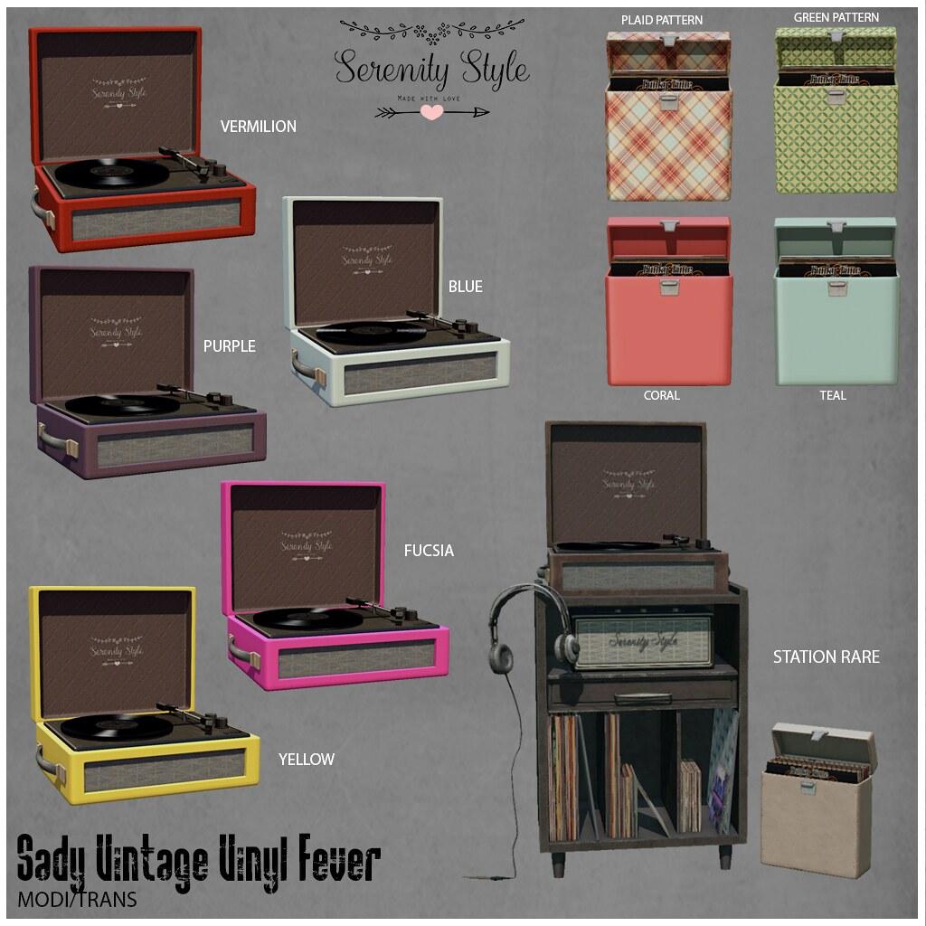 Serenity Style-Sady Vintage Vinyl Fever