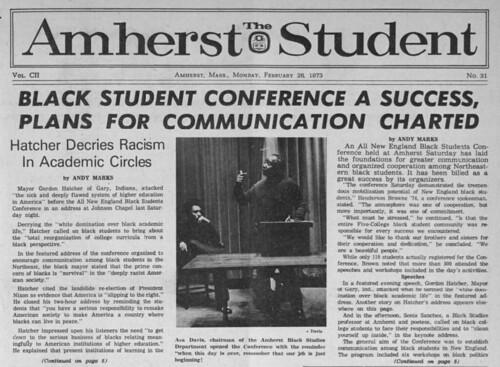 1973: Black Student Conference