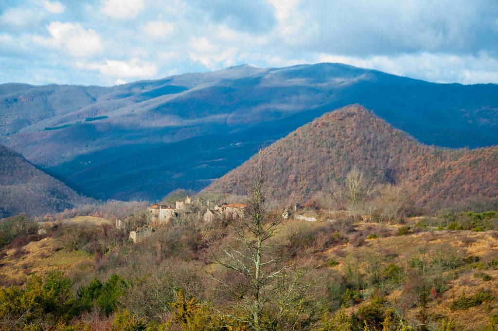 il pase abbandonato di Monte Silvestre e il monte Fatucchio - Vallesanta - Chiusi della Verna - Toscana