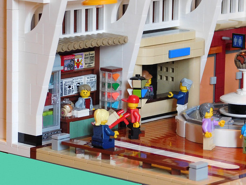 The Arrivals Hall - Terminal One - IDLEBRICK AIRPORT