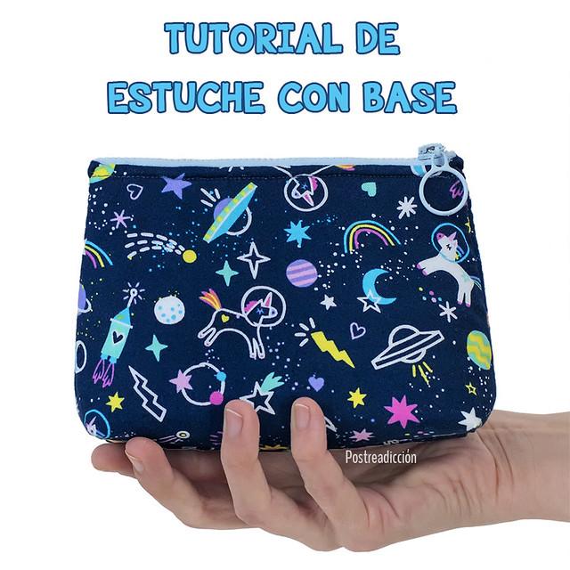 tutorial coser estuche