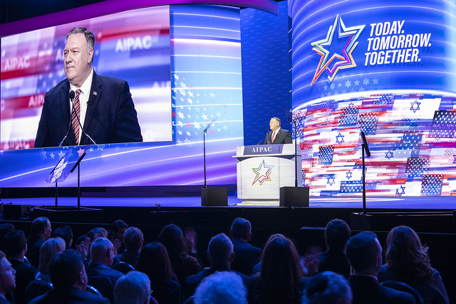 Secretary Pompeo Delivers a Speech at AIPAC