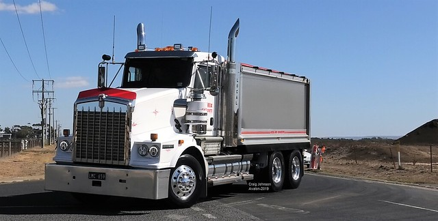 Local Mix Concrete Kenworth Tipper at Avalon
