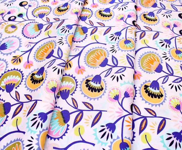 Art Gallery Fabrics Oh, Meow! Kattaland Flora