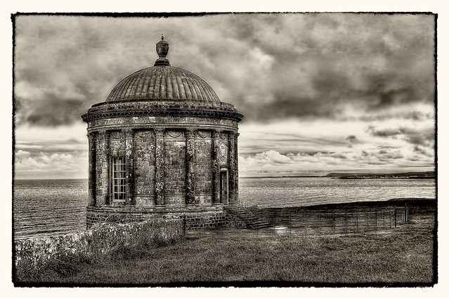 Castlerock NIR - Mussenden Temple 04