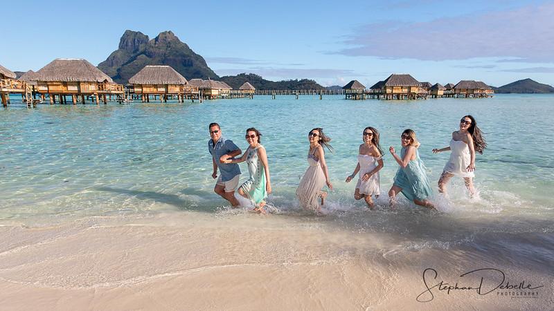 Ngu Family - The Pearl Beach Bora Bora