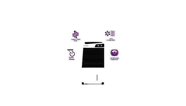 Hindware Snowcrest 100-H 100Ltr Air Cooler Review