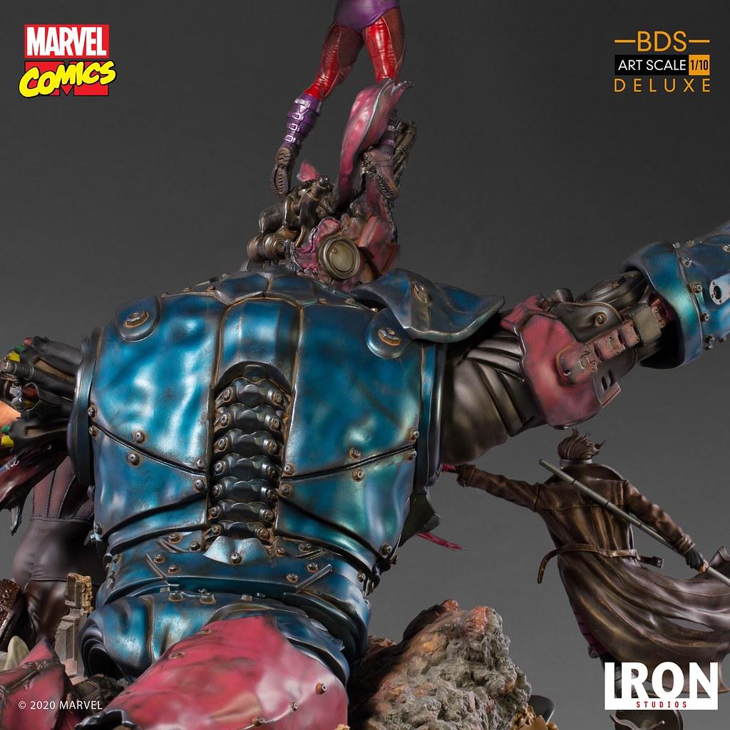 Iron Studios Battle Diorama 系列 Marvel Comics【哨兵機器人 #2】Sentinel #2 1/10 比例場景雕像