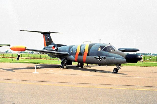 MBB HFB-320 Hansa Jet 16+26 German AF