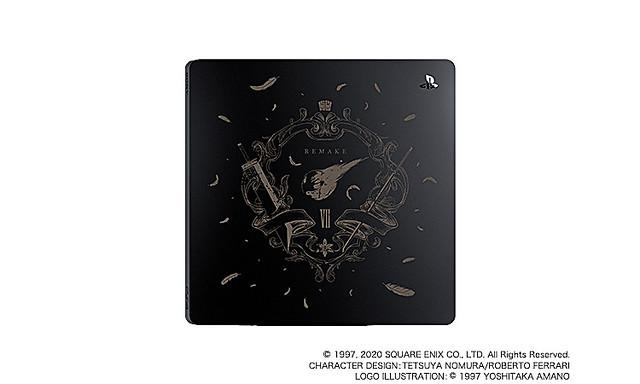 《FINAL FANTASY VII 重製版》將推出發售紀念 PlayStation®4 刻印上蓋