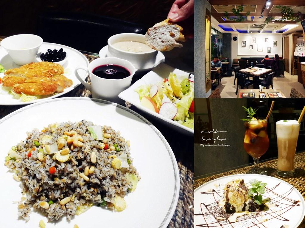 新北新店大坪林站spa素食餐廳吃素推薦聚餐包廂美養莊園 (3)