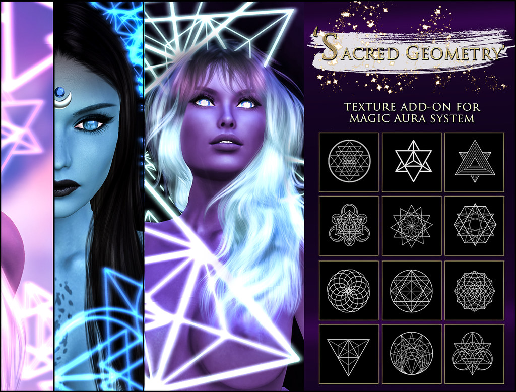 -Elemental' 'Sacred Geometry' Texture Addon For Magical Aura