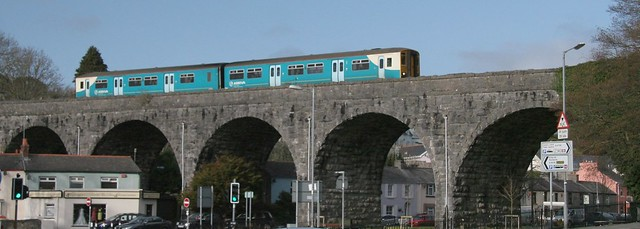 150208 on Tenby viaduct
