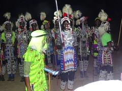 Los wodaabe. Danzas y cantos durente el festival Gerewol. Al sur de Massenya. Chad