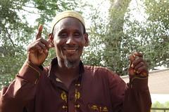 La partida de los nómadas. En una hora, levantan todo y se van.... Al sur de Massenya. Chad