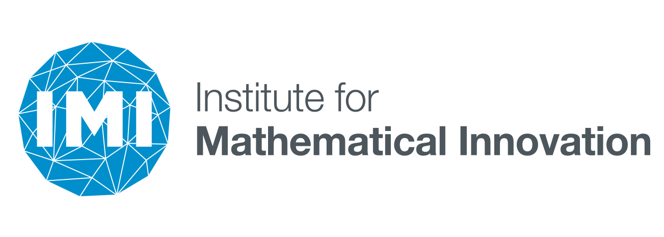 The logo of IMI