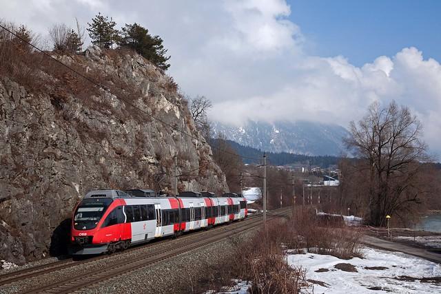 ÖBB 4024 057 - S1 Rosenheim - Telfs-Pfaffenhofen  - Jenbach
