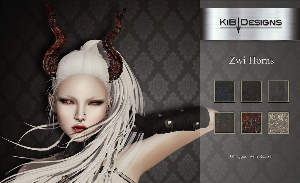 KiB Designs - Zwi Horns @Darkness Event