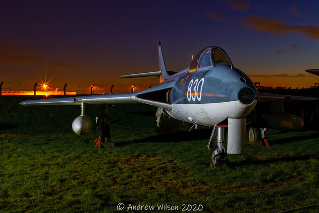 Hawker Hunter GA.11 WV382