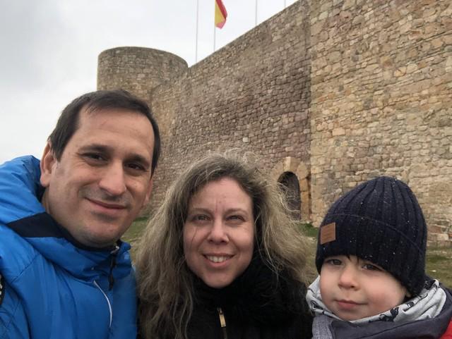 Sele, Rebeca y Unai en Medinaceli