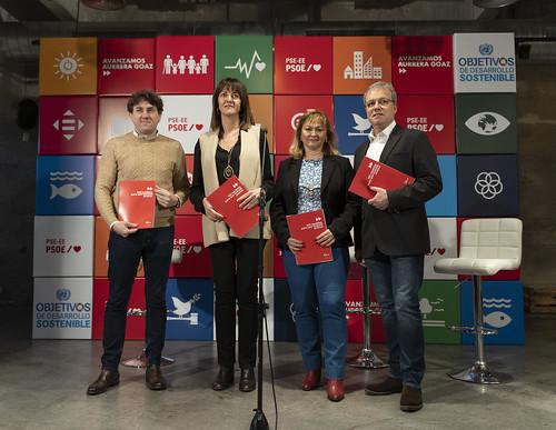 Presentación 100 medidas para que Euskadi avance