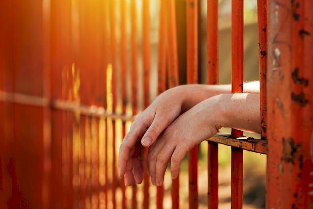 Mujer en prisión