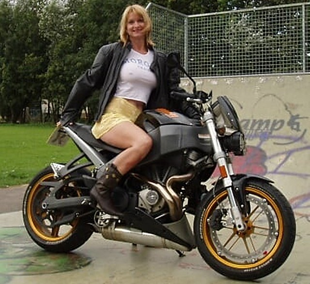 More of Blonde on Buell