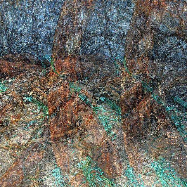 Mixed Minerals Amalgam - Mevagissey