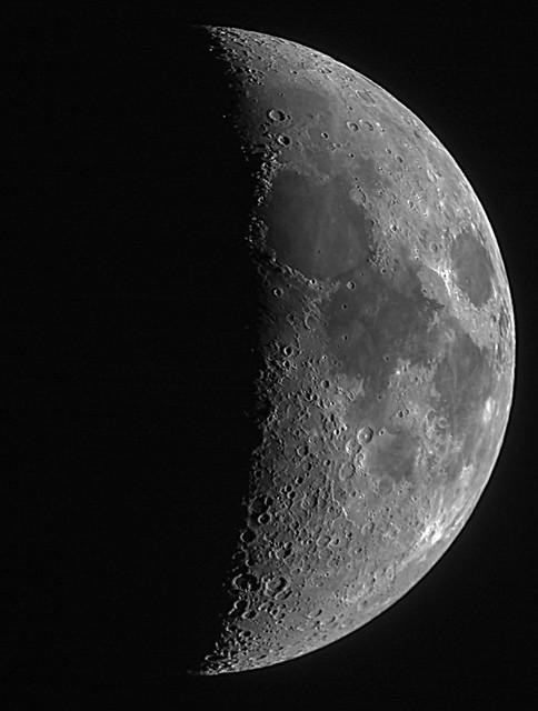 40% Waxing Crescent Moon 01/03/20